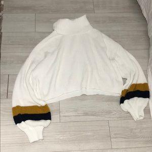 Cropped Gianni bini luxury sweater